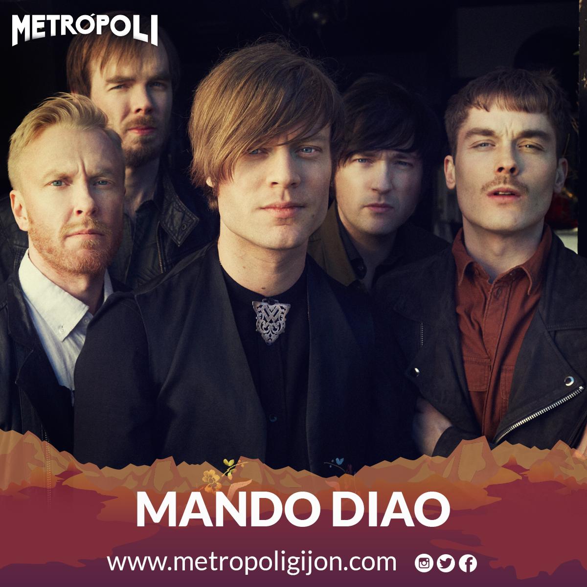 Mando Diao – Festival Metrópoli Gijón